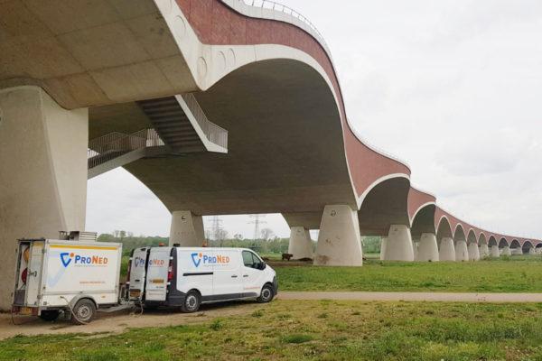 Anti graffiti coating brug