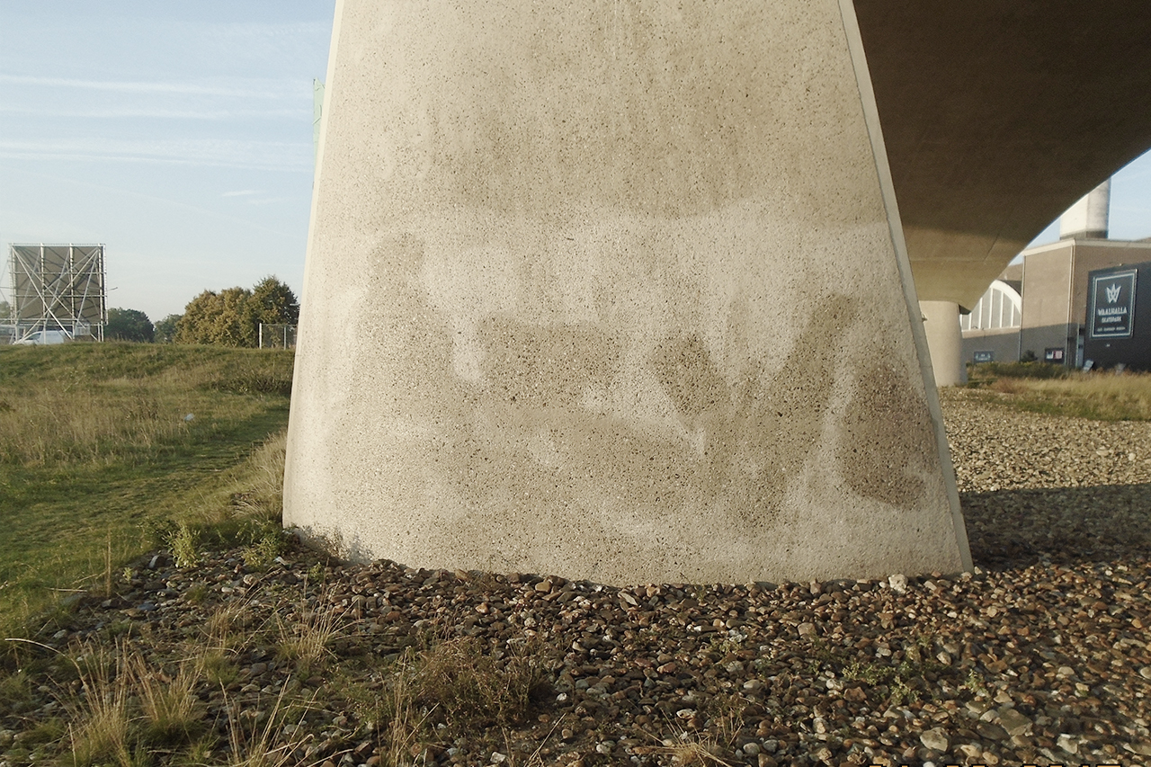 Anti-graffiti beton