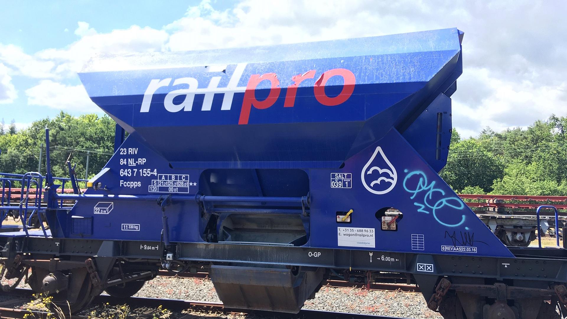 Graffiti laten verwijderen wagon
