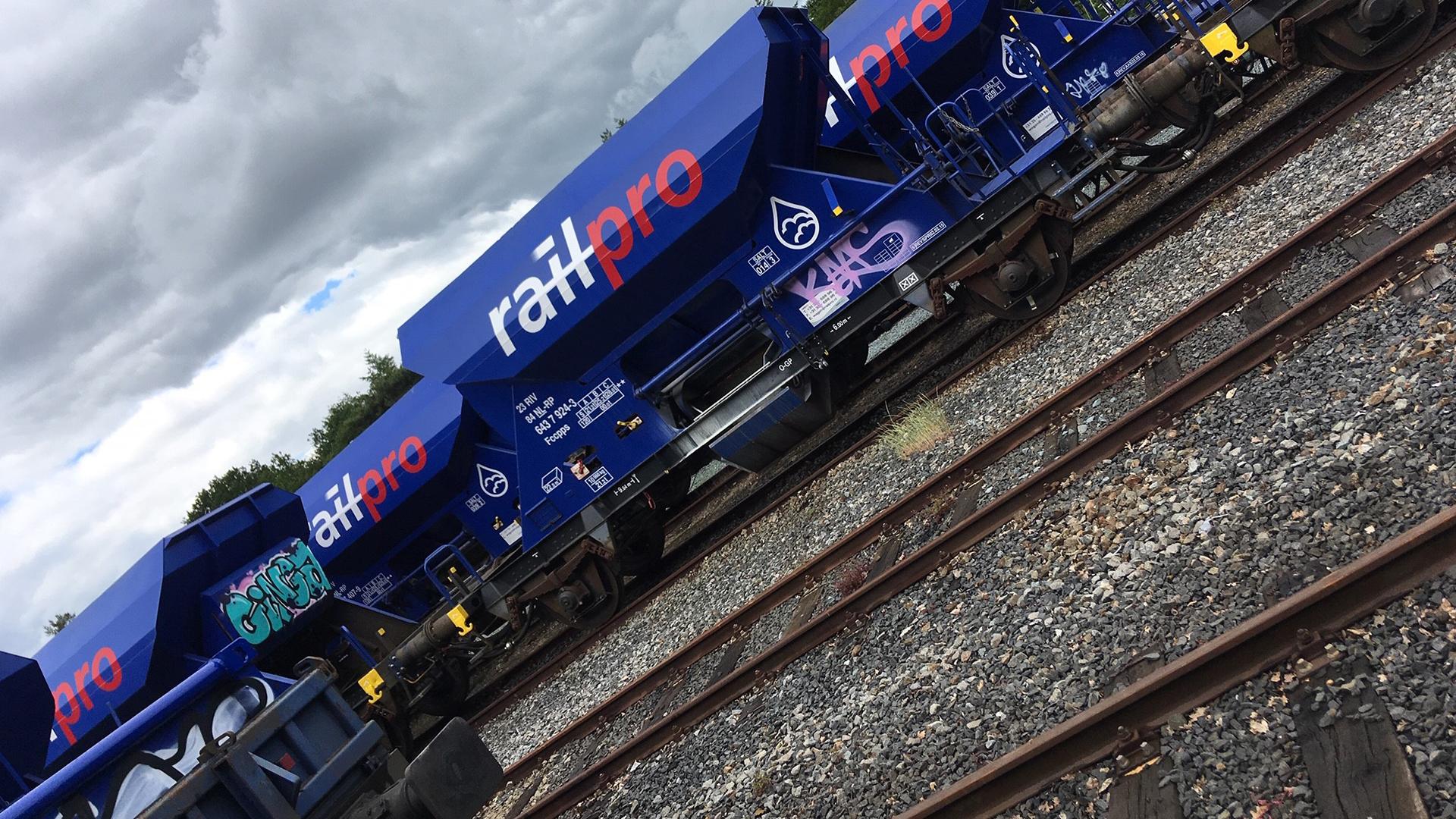 Graffiti verwijderen wagon